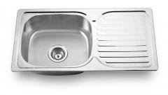 Single Bowl with Board Kitchen Sink