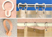 Shower Curtain Hooks