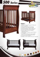 Hardwood Baby Cot