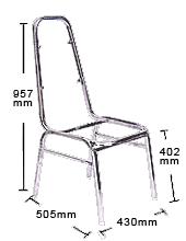 Banquet Chair Frame