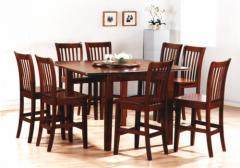 Chester Bar Stool Set ( 1+8 )
