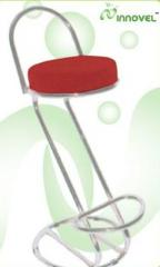 Chrome Base Barstool