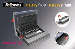 Comb Binding Machine, Fellowes Galaxy 500