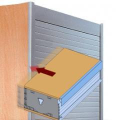 Modular Tambour Door System