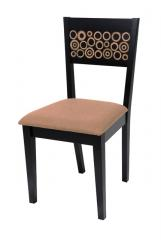 Dining Chair with Bamboo Rings Inlay