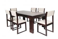 Dining Table with Coconut Shell Inlay