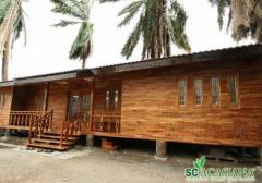 Acacia Wooden Chalet