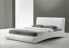 Border Leather Bed