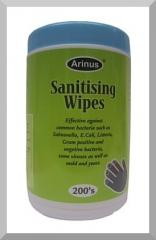 Sanitizing Wipes with Alcohol, Arinus
