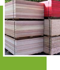 Tropical Hardwood Plywood Panels