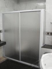 Two Panels Sliding Shower Screen