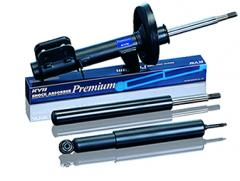 Oil shock absorbers, struts and cartridges