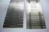 Metal insert steel core for rubber weatherstrip