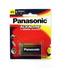 Battery Panasonic 9v Square Alkaline