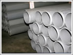 Polyvinyl Chloride (PVC) and unplasticized Polyvinyl Chloride (uPVC) pipe