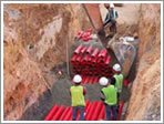 HDPE Double-Wall Corrugated Underground Cable Protection pipe