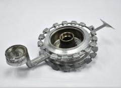 Aluminium die cast mould