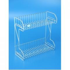 Stainless Steel 2 Tiers Multipurpose Rack