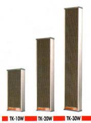 Dynamic Sound Column Speakers