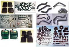 Gasket Components, Oil Seals And Cables
