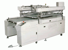 Double-table semi-auto screen printing machine bhd-66