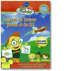 Learn to Draw from A to Z with CD