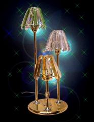Austrian Crystal Table Lamp, DF T 9320-3BH