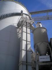 High-speed bucket elevators