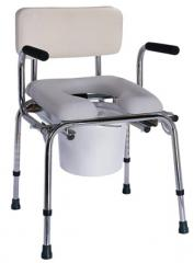 Padded Drop Arm Commode, COM/2010-AJ