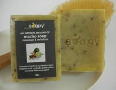All Natural Macho Soap