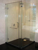 Frameless Shower System