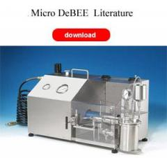 The Micro DeBEE Air-Operated Homogenizer