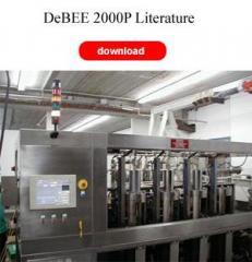 The DeBEE 2000P Production Homogenizers