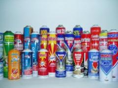 Insecticide Spray Cans