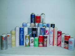 Personal Care Products Cans