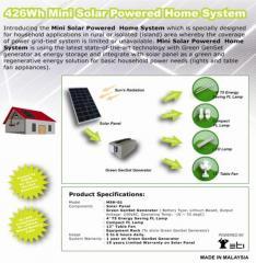 Mini Solar Power Home System