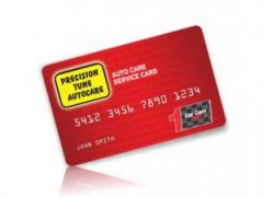 Vehicle Service Card