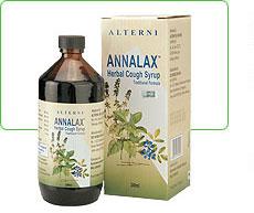 Annalax natural herbal cough syrup