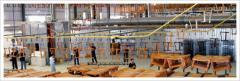 Overhead conveyor system