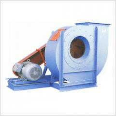 Pulley drive centrifugal fans