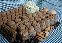 Chocolate Almond Sugee Cookies