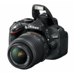Nikon D5100 with AF-S 18-55mm VR Lens Kit