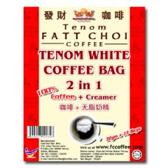 2 in 1 Tenom White Coffee Bags