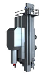 Continuous mixed-flow dryer