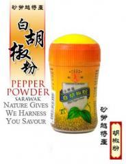 100% Sarawak Pure White Pepper Powder - 50gm x 96