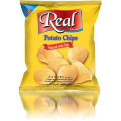 Real Potato Chips- Natural with Salt