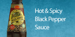 Hot & Spicy Black Pepper Sauce