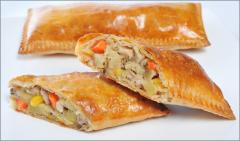 Chicken Herbs Calzone
