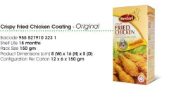 Crispy Fried Chicken Coating