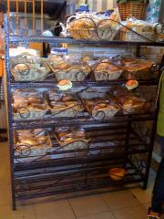 Iron Bakery Rack
